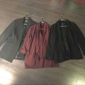 SOLD Bundle of 3 Large Blazers from Dynamite